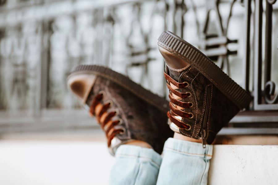 Visok ris i izbor cipela