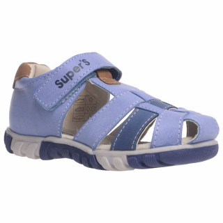 POLLINO STRADA POLUSANDALA GD16056E LT.BLUE/R.BLUE/LT.BROWN