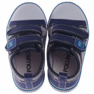 POLLINO STRADA CANVAS-PATIKA ST112 NAVY
