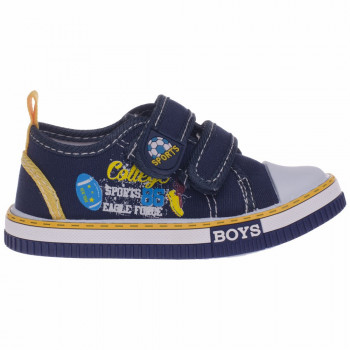 POLLINO STRADA CANVAS-PATIKA ST111 BLUE