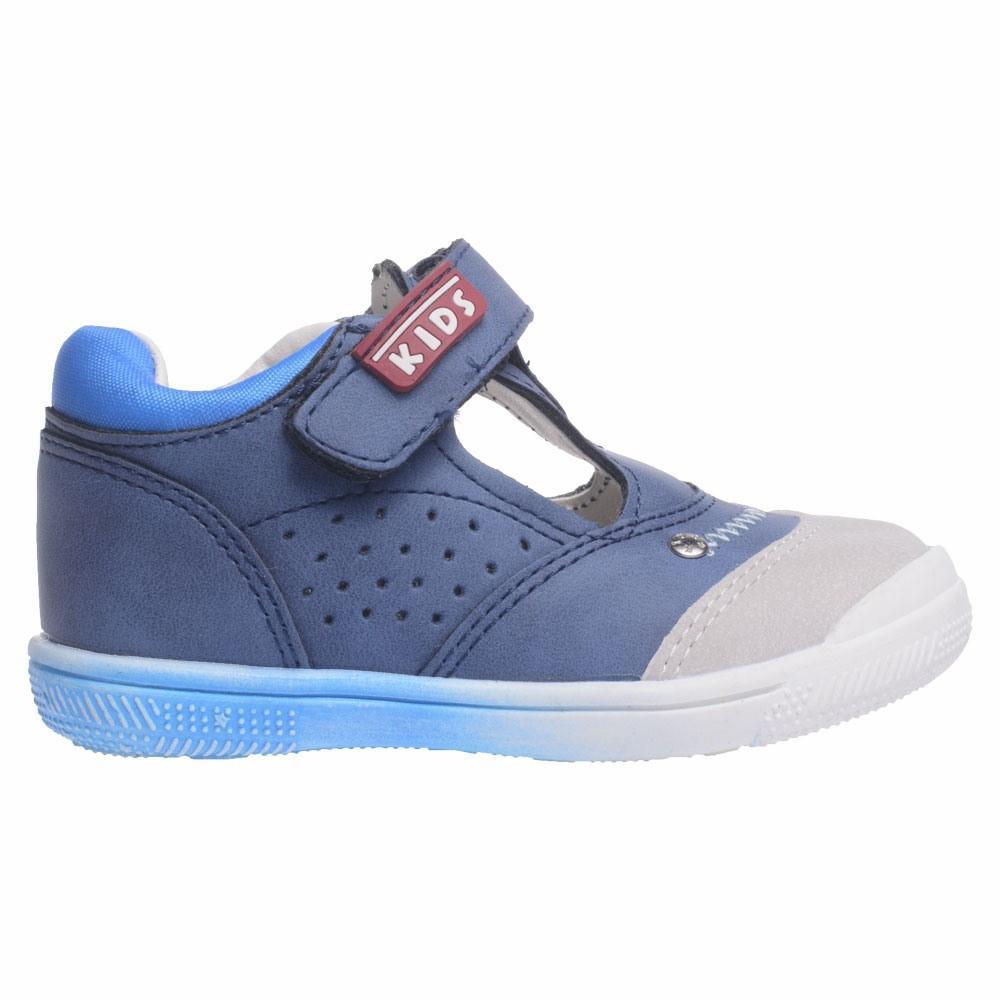 POLLINO STRADA POLUSANDALA GD16040B LT.GREY/R.BLUE/T.BLUE